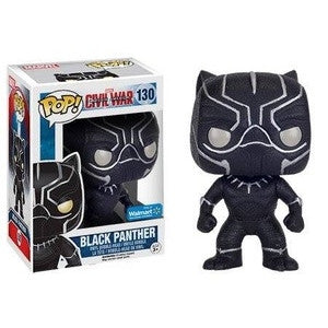 Funko POP! Marvel Black Panther (Glitter) Vinyl Figure (Walmart Exclusive) NEW -  - The Pop Dungeon - The Pop Dungeon