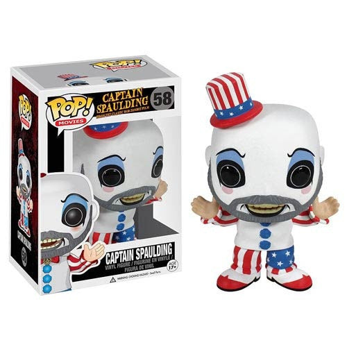Funko POP! Movies Captain Spaulding Vinyl Figure (VAULTED) NEW -  - The Pop Dungeon - The Pop Dungeon