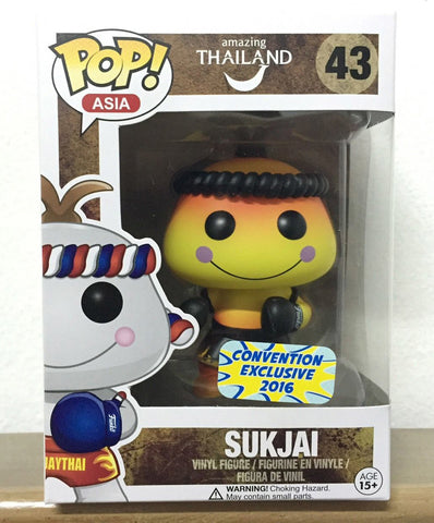 Funko POP! Asia Sukjai Vinyl Figure (Convention Exclusive) NEW