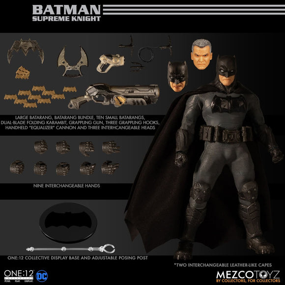 Supreme Knight Batman MEZCO One:12 Collective Action Figure