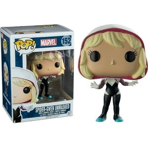 Funko POP! Marvel Spider-Gwen (Unmasked) Vinyl Figure (Walgreens Exclusive) NEW -  - The Pop Dungeon - The Pop Dungeon