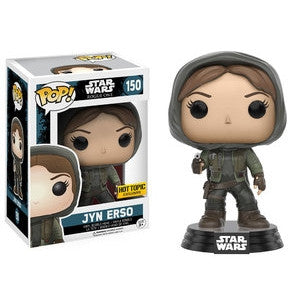 Funko POP! Star Wars Jyn Erso (Hood) Vinyl Figure (Hot Topic Exclusive) NEW -  - The Pop Dungeon - The Pop Dungeon