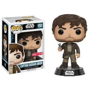 Funko POP! Star Wars Captain Cassian Andor Vinyl Figure (Target Exclusive) NEW -  - The Pop Dungeon - The Pop Dungeon
