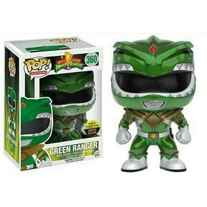 Funko POP! Television Mighty Morphin Power Rangers Green Ranger (Metallic) Vinyl Figure (Toy Tokyo Exclusive) NYCC NEW -  - The Pop Dungeon - The Pop Dungeon