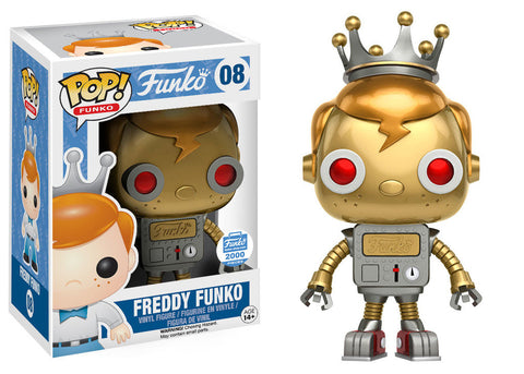 Funko POP! Funko Freddy Funko (Robot) Vinyl Figure (FunkoShop) NEW