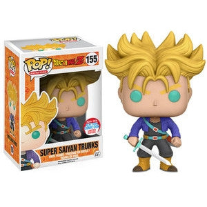 Funko POP! Animation Super Saiyan Trunks Vinyl Figure (NYCC Exclusive) NEW -  - The Pop Dungeon - The Pop Dungeon