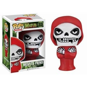 Funko POP! Rocks Misfits Fiend Vinyl Figure (VAULTED) NEW -  - The Pop Dungeon - The Pop Dungeon