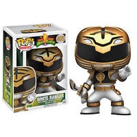 Funko POP! Television MM Power Rangers White Ranger (Action Pose) Vinyl Figure NEW -  - The Pop Dungeon - The Pop Dungeon
