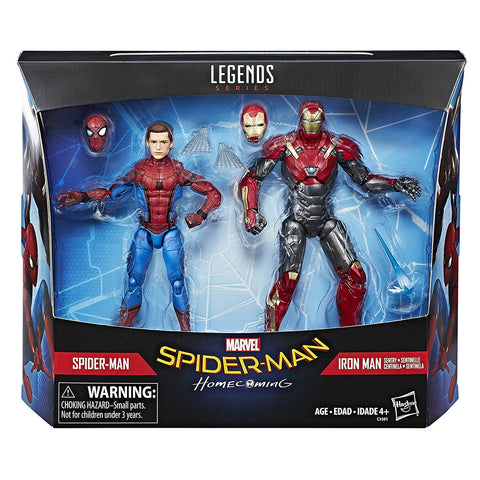 Marvel Legends - Spider-Man & Iron Man Action Figures
