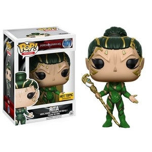 Funko POP! Television Power Rangers Rita Vinyl Figure (Hot Topic Exclusive) NEW -  - The Pop Dungeon - The Pop Dungeon