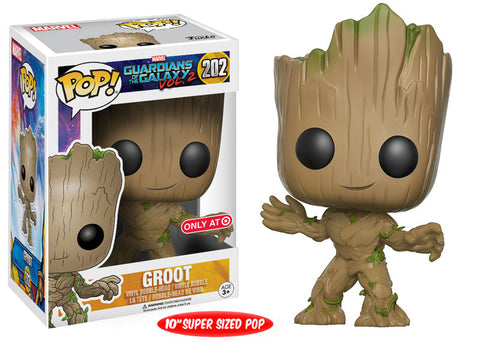 Funko POP! Marvel Groot (10-inch) Vinyl Figure (Target Exclusive) -  - The Pop Dungeon - The Pop Dungeon