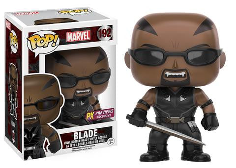 Funko POP! Marvel Blade Vinyl Figure (PX Exclusive) NEW -  - The Pop Dungeon - The Pop Dungeon