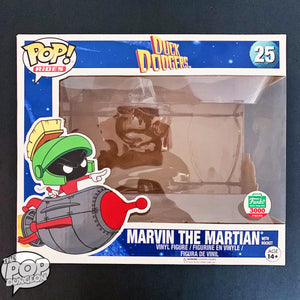 Marvin the Martian with Rocket Replacement Box