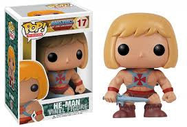 Funko Pop Television He-Man Vinyl Figure (VAULTED) NEW -  - The Pop Dungeon - The Pop Dungeon