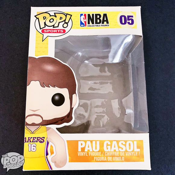 Pau Gasol LA Lakers Funko Replacement Box