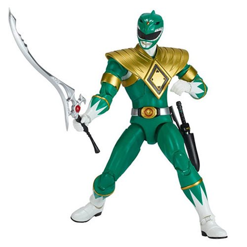 Power Rangers - Green Ranger Action Figure