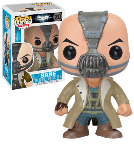 Funko POP! Heroes Bane Vinyl Figure (VAULTED) NEW -  - The Pop Dungeon - The Pop Dungeon