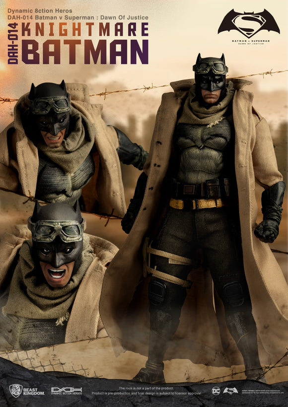 Batman V Superman Knightmare Batman 8ction Heroes Action Figure (Previews)