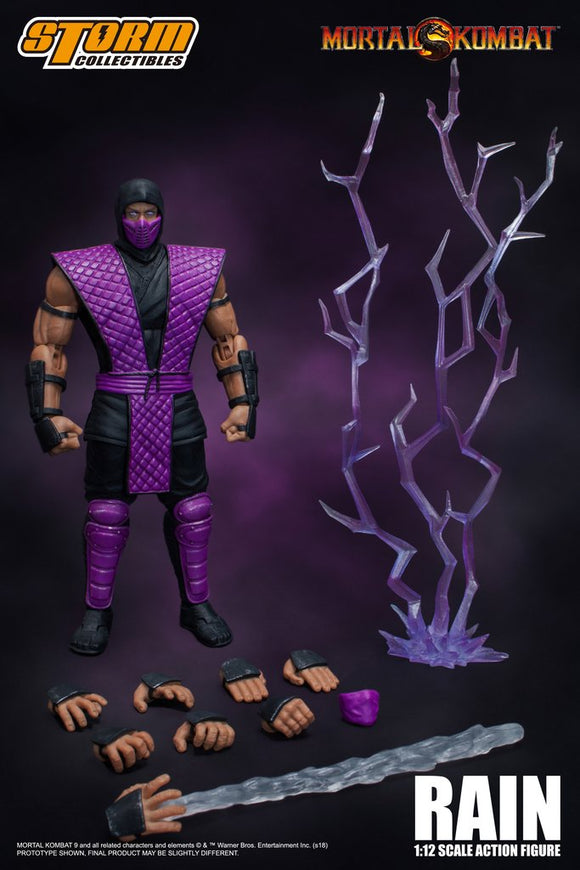 Storm Collectibles - Mortal Kombat - Rain - NYCC - Action Figure