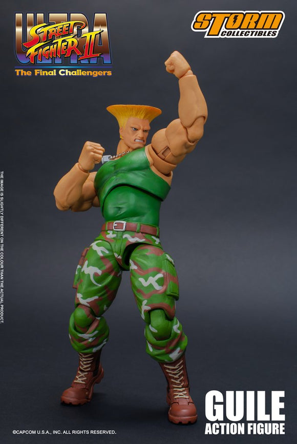 Street Fighter - Guile - Action Figure