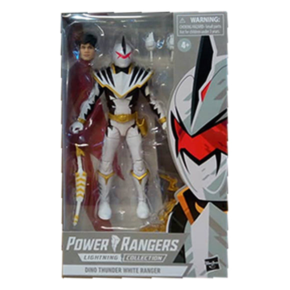 Dino Thunder White Ranger Lightning Collection Action Figure (Walgreens)