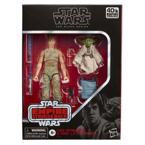 Luke Skywalker & Yoda Jedi Training Star Wars: Black Series Action Figure