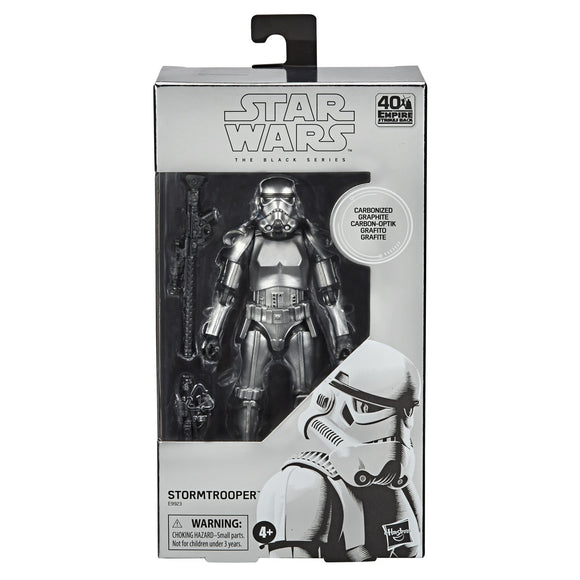 Star Wars: Black Series - Storm Trooper (Carbonized) Action Figure Exclusive