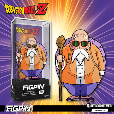 Dragon Ball Z Master Roshi FiGPiN Enamel Pin (Entertainment Earth)