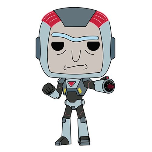 Funko POP! Animation Purge Suit Rick Vinyl Figure NEW -  - Funko - The Pop Dungeon
