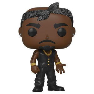 Funko POP! Rocks Tupac Vest (Bandana) Vinyl Figure NEW