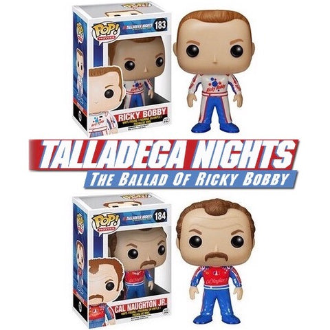 Funko POP! Movies Talladega Nights Set Vinyl Figures (VAULTED) NEW