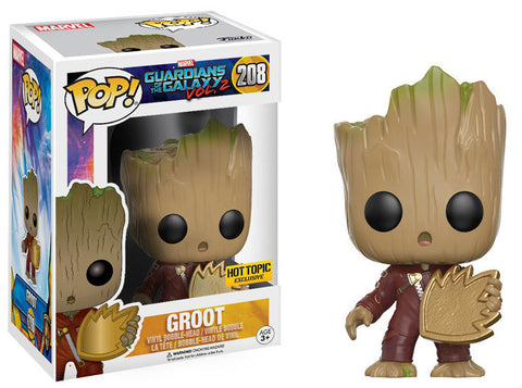 Funko POP! Marvel Groot (Baby) Vinyl Figure (Hot Topic Exclusive) NEW -  - The Pop Dungeon - The Pop Dungeon