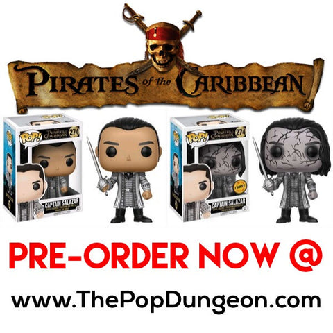 PRE-ORDER - Funko POP! Disney Captain Salazar Vinyl Figure (CHASE BUNDLE) -  - The Pop Dungeon - The Pop Dungeon