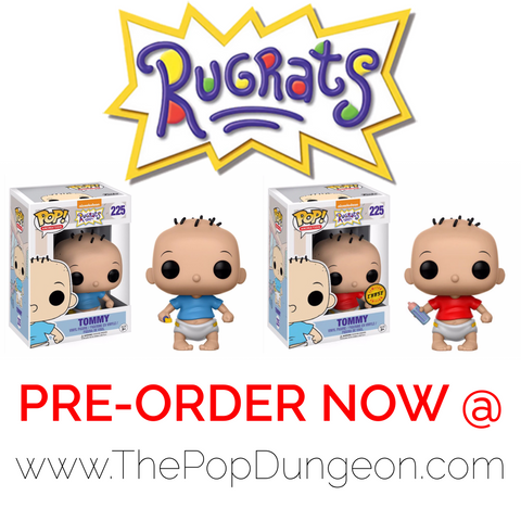 Funko Pop Television Tommy Pickles Vinyl Figure (CHASE BUNDLE) -  - The Pop Dungeon - The Pop Dungeon