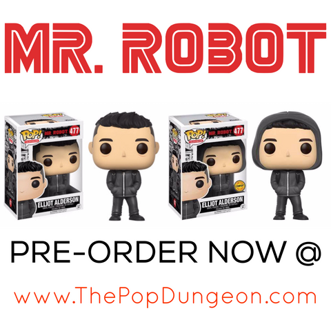 Funko POP! Television Elliot Alderson Vinyl Figure (CHASE BUNDLE) -  - The Pop Dungeon - The Pop Dungeon