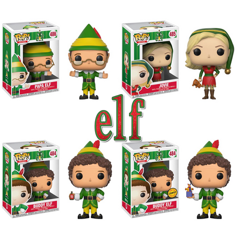 PRE-ORDER - Funko POP! Movies Elf Set Vinyl Figure (CHASE BUNDLE)