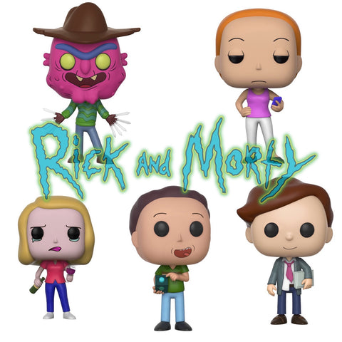 PRE-ORDER - Funko POP! Animation Rick & Morty Series 3 Set Vinyl Figure (BUNDLE)