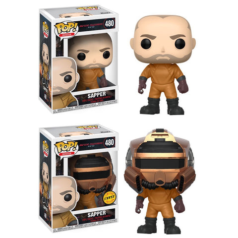 Funko POP! Movies Sapper Vinyl Figure (CHASE BUNDLE)