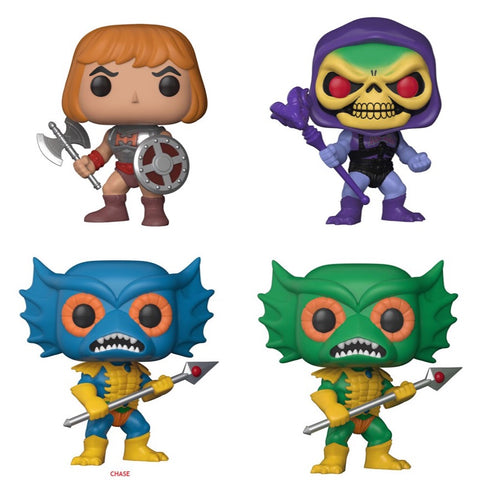 PRE-ORDER - Funko Pop Television MOTU Set Vinyl Figure (CHASE BUNDLE) NEW