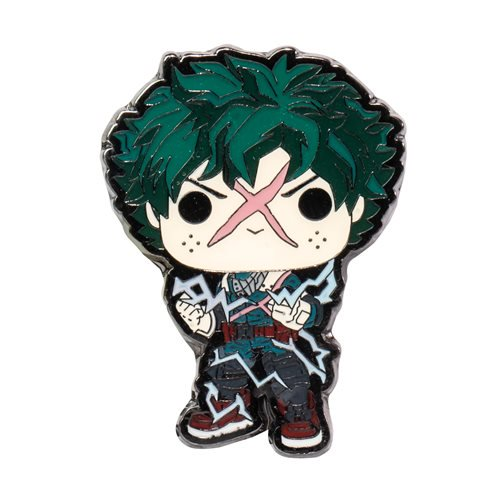 My Hero Academia Deku Full Cowl Pop! Enamel Pin (Entertainment Earth)
