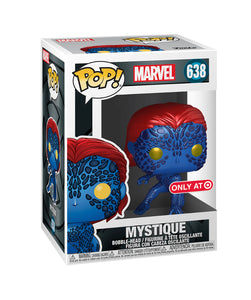 Mystique Funko POP! Marvel (Metallic) Vinyl Figure (Target) NEW