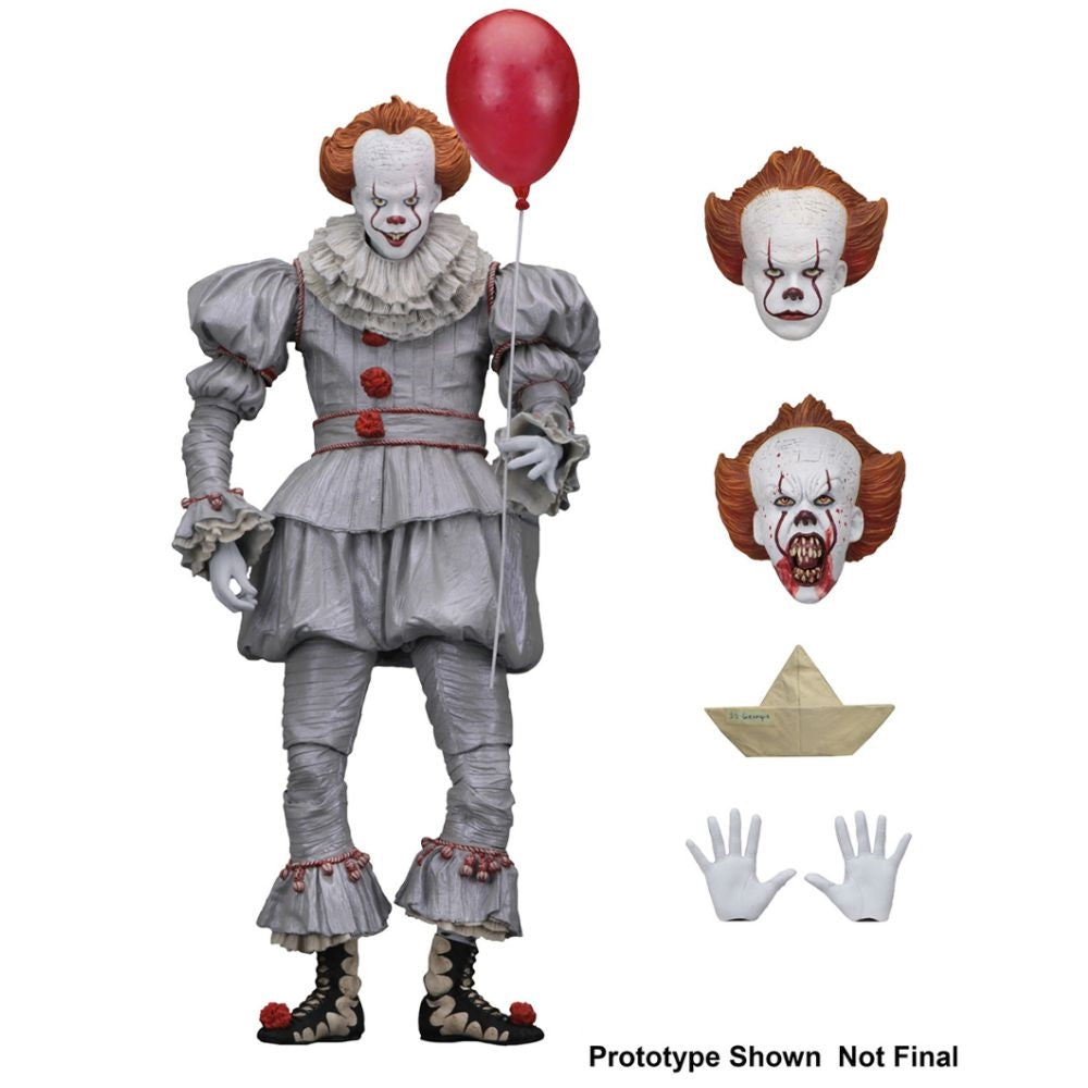 "NECA - Pennywise (2017) 7"" Scale - Action Figure"