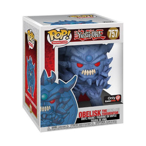 Obelisk Funko Pop Animation Vinyl Figure (GameStop) NEW