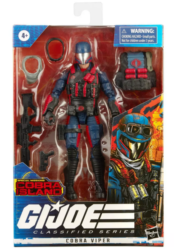 Cobra Viper G.I. Joe Classified Series Action Figure (Target)