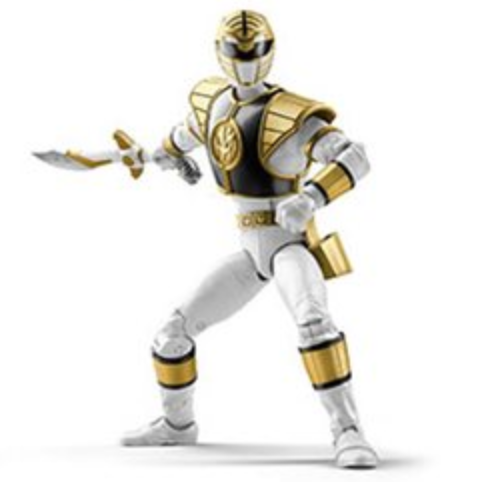 Power Rangers Lightning - White Ranger Action Figure