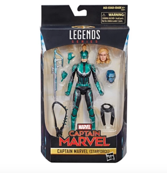 Marvel Legends - Captain Marvel (Star Force) Action Figure (Target)