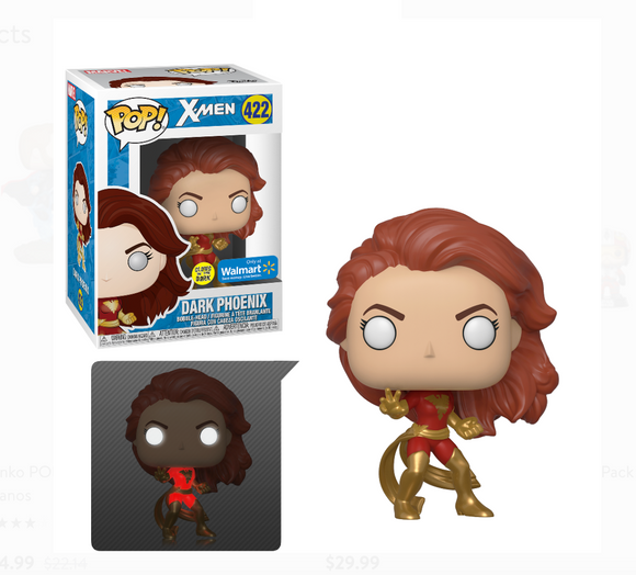 Funko POP! Marvel Dark Phoenix (Glow) Vinyl Figure (Walmart) NEW