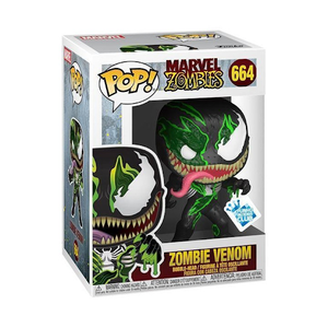 Zombie Venom Funko POP! Marvel Vinyl Figure (GameStop) NEW