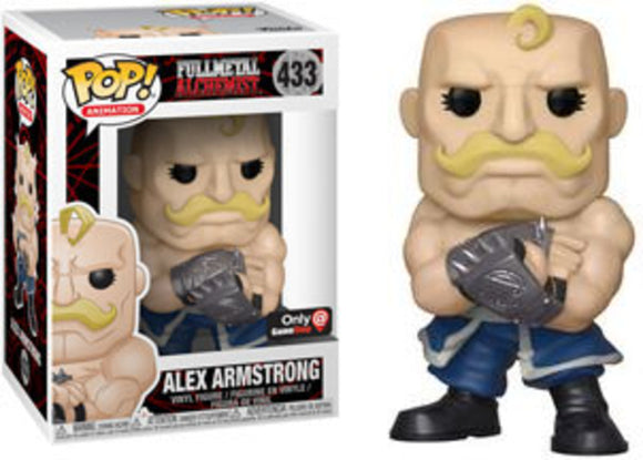 Funko POP! Animation Alex Armstrong Vinyl Figure (GameStop) NEW -  - Funko - The Pop Dungeon