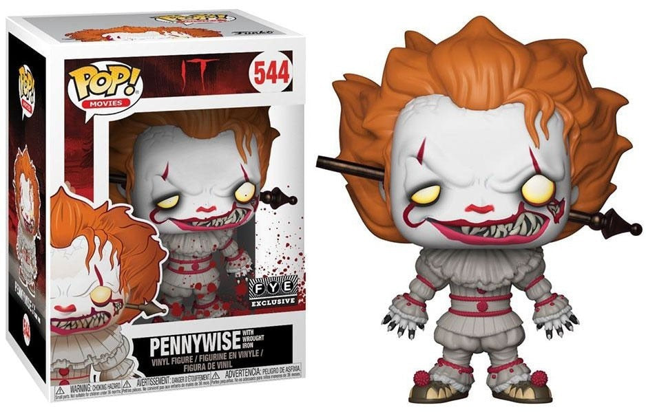Funko POP! Movies Pennywise (Rod) Vinyl Figure (FYE) NEW